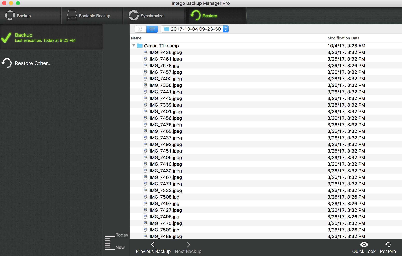 Intego Backup Manager Pro 2 User Manual – Intego Support