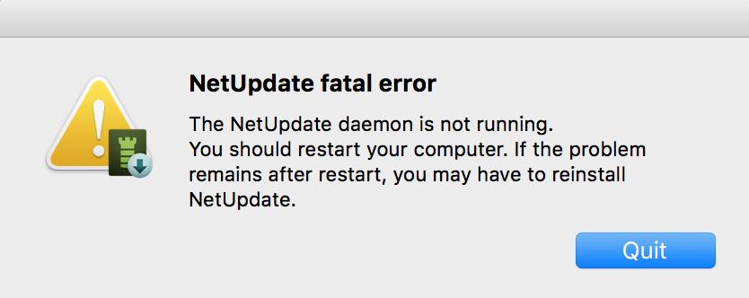 Error: 'Daemon is Not Running' – Intego Support